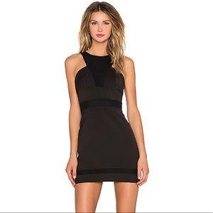 NBD black cocktail dress